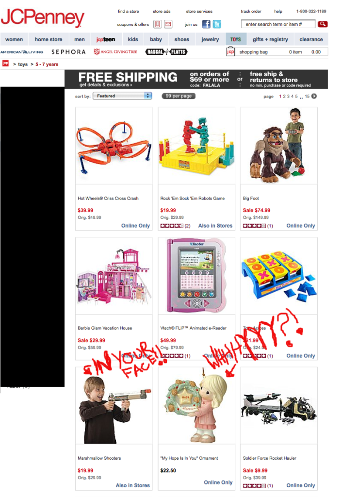 Funny JCPenny Search Result