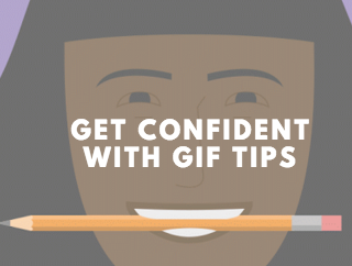 shareable content experience using GIFs